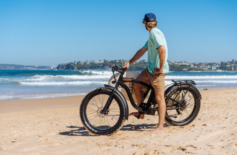 Fat Tyre E Bike Byron Bay